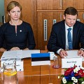Representatives of the State Budget Control Select Committee of the Parliament of the Republic of Estonia