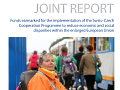 Joint report Swiss–Czech Cooperation Programme - cover